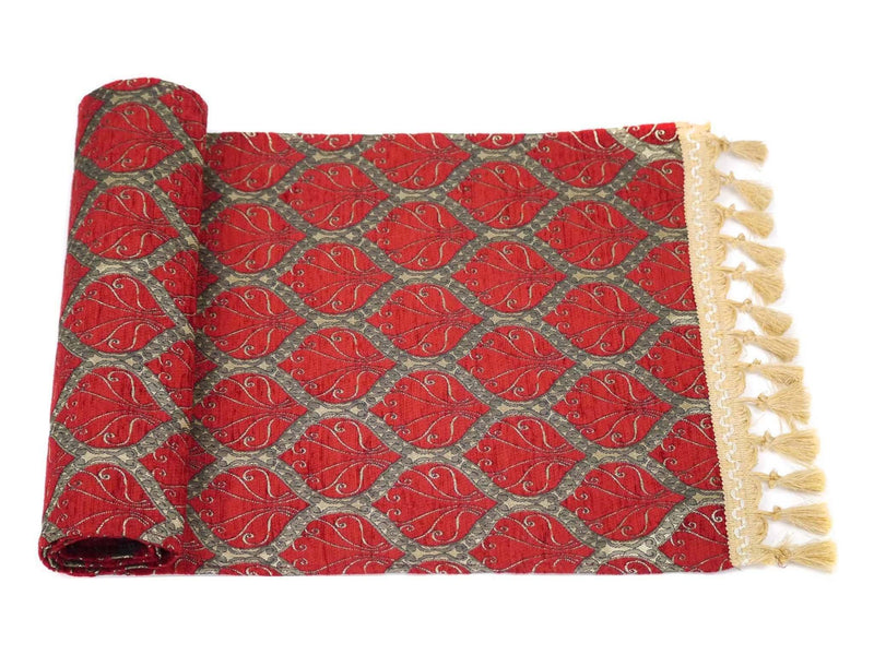 Turkish Table Runner Red Colour