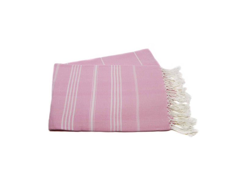 Turkish Beach Towels Pink Colour