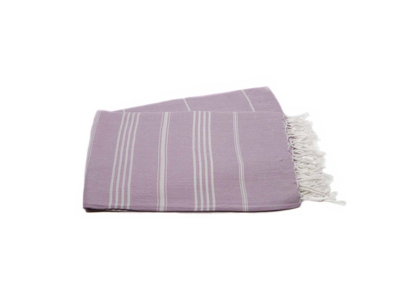 Turkish Beach Towels Purple Lavender Colour