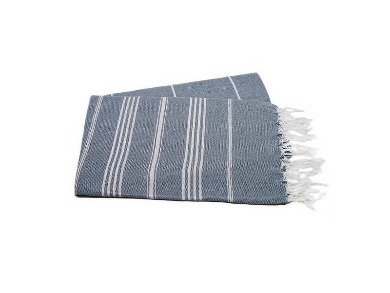 Turkish Beach Towel Teal Green Colour