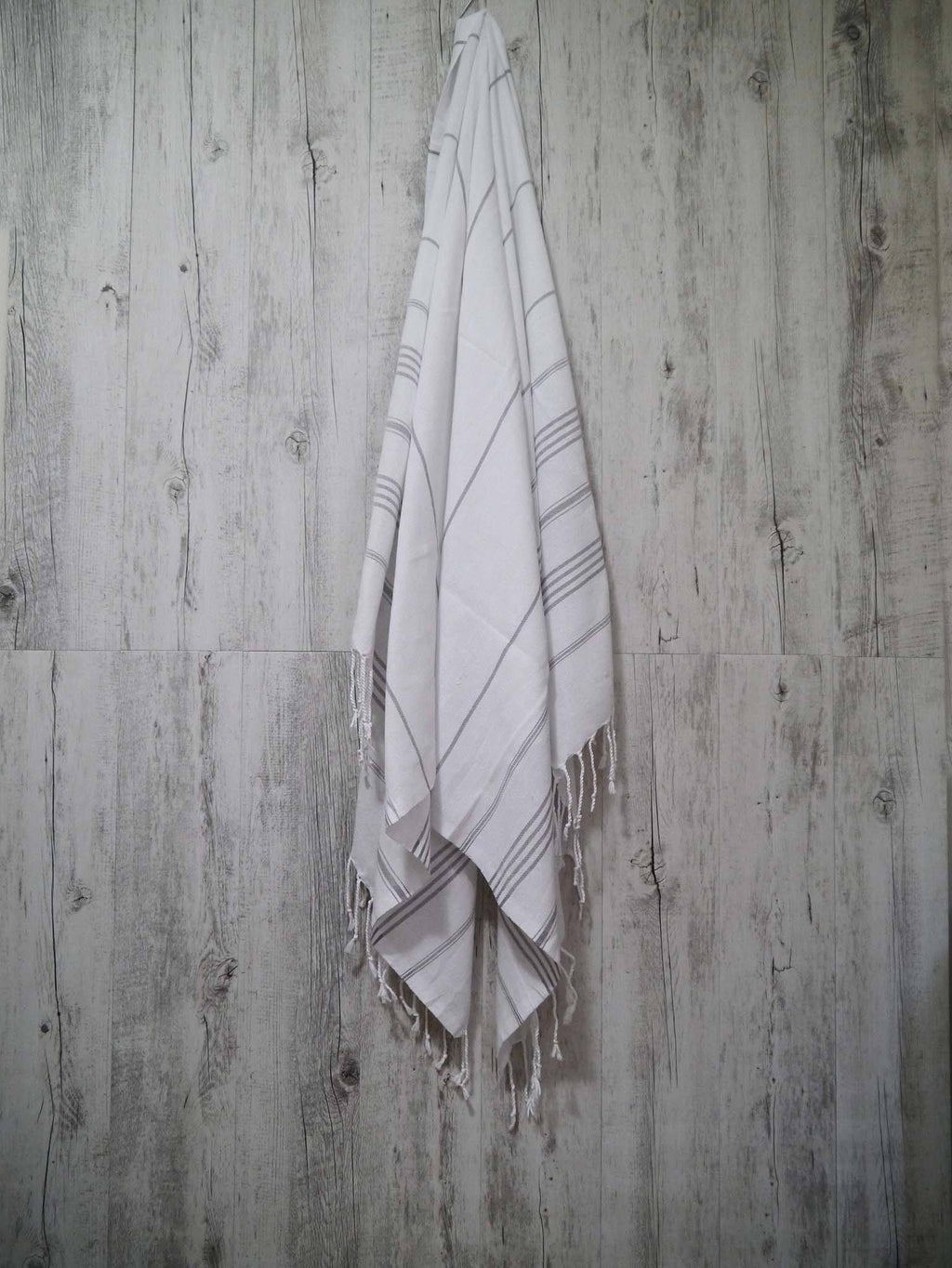 Turkish Towel Cotton Classic Striped White