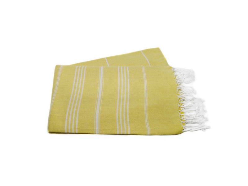 Turkish Beach Towels Yellow Colour