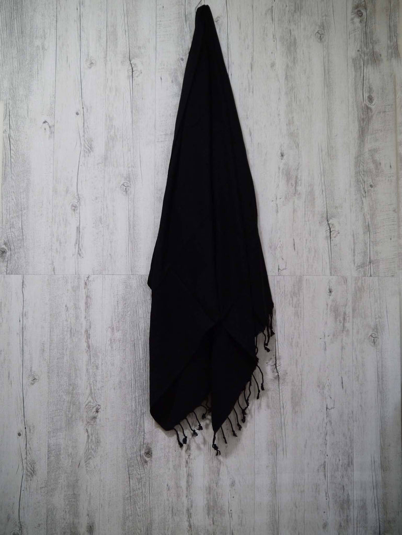 Turkish Towel Cotton Soft Collection Black