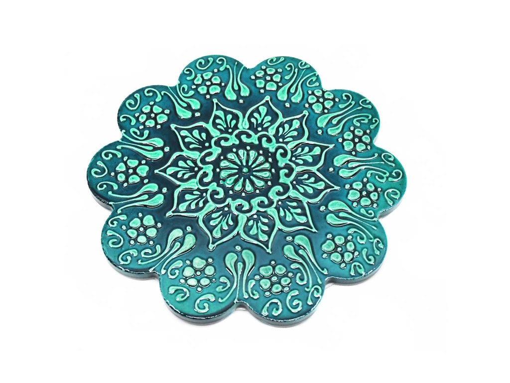 Turkish Trivet Green Colour