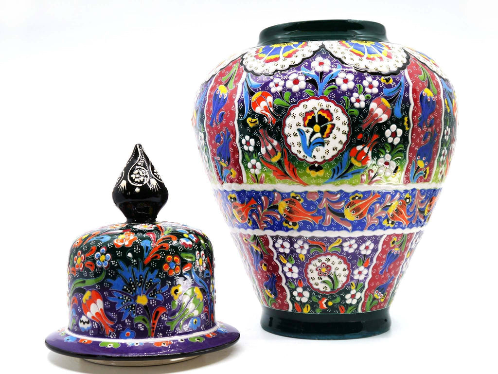 Special Shah Turkish Vase Multicoloured