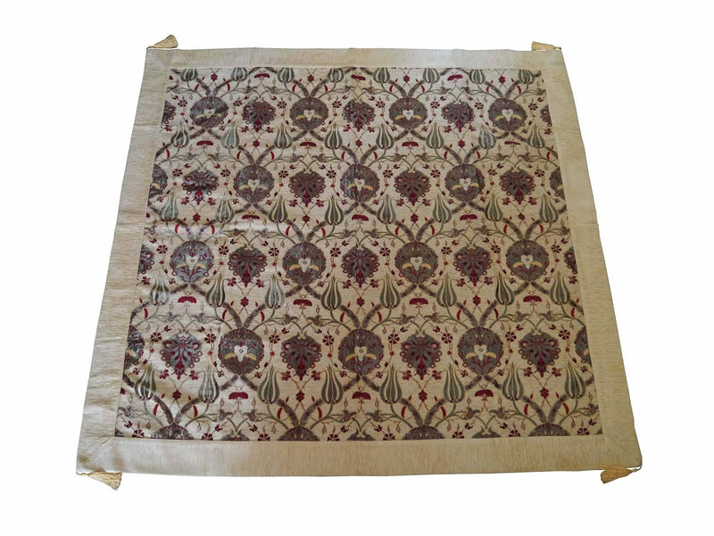 Turkish Tablecloth Flower, Cream
