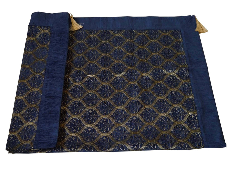Turkish tablecloth Australia cobalt blue