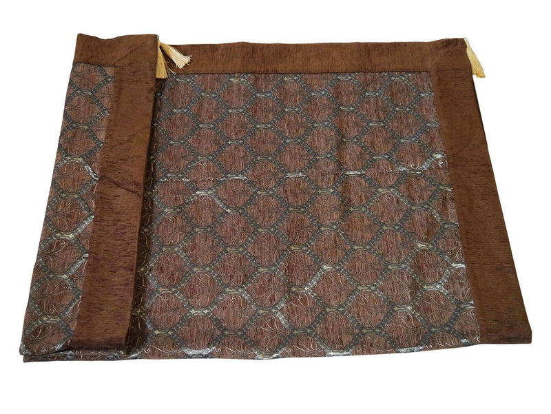 Turkish tablecloth Australia brown