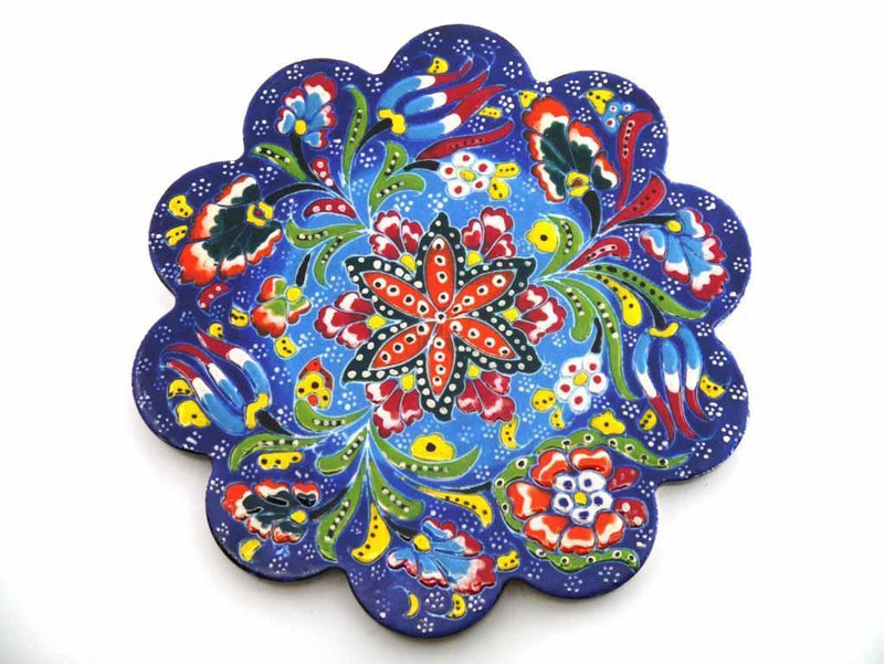 Turkish Trivet Blue Colour
