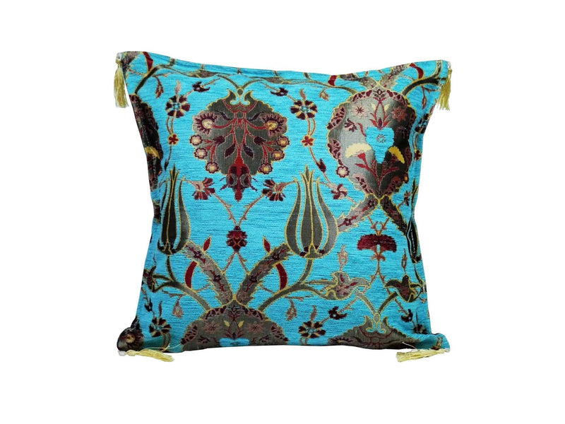 Turkish Cushion Cover Turquoise colour