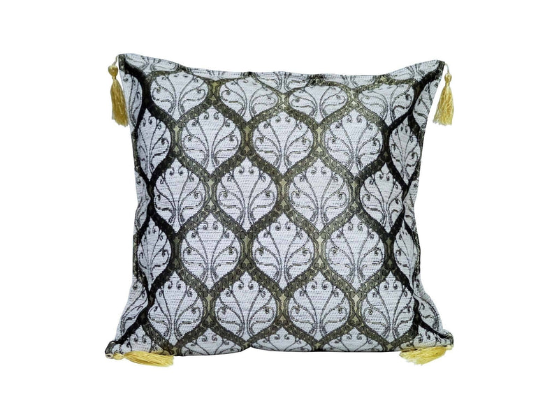 Turkish Cushion Cover White Colour