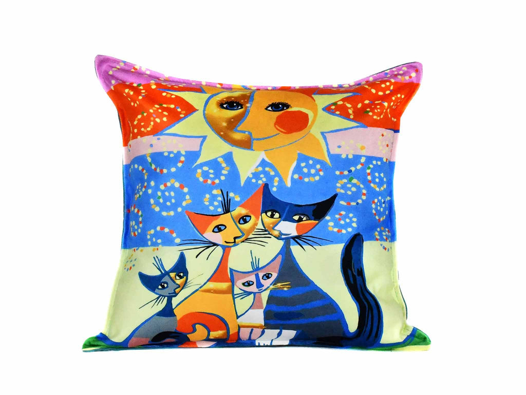 Cat Cushion Cover Design 15 Textile Sydney Grand Bazaar