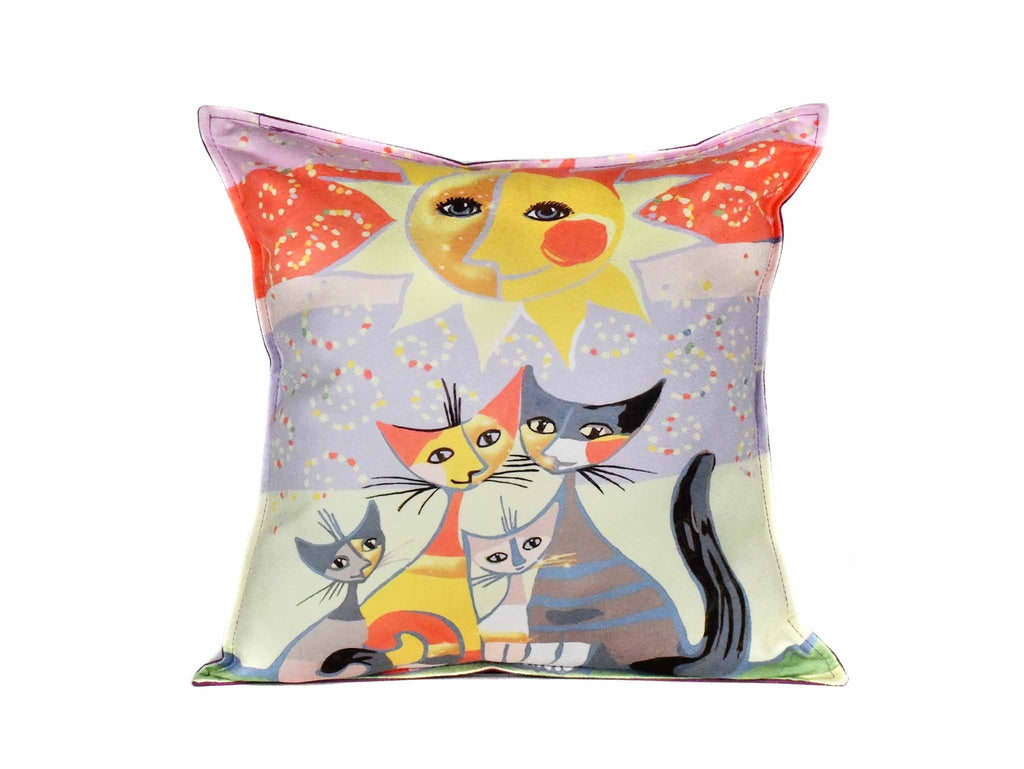 Cat Cushion Cover Design 16 Textile Sydney Grand Bazaar