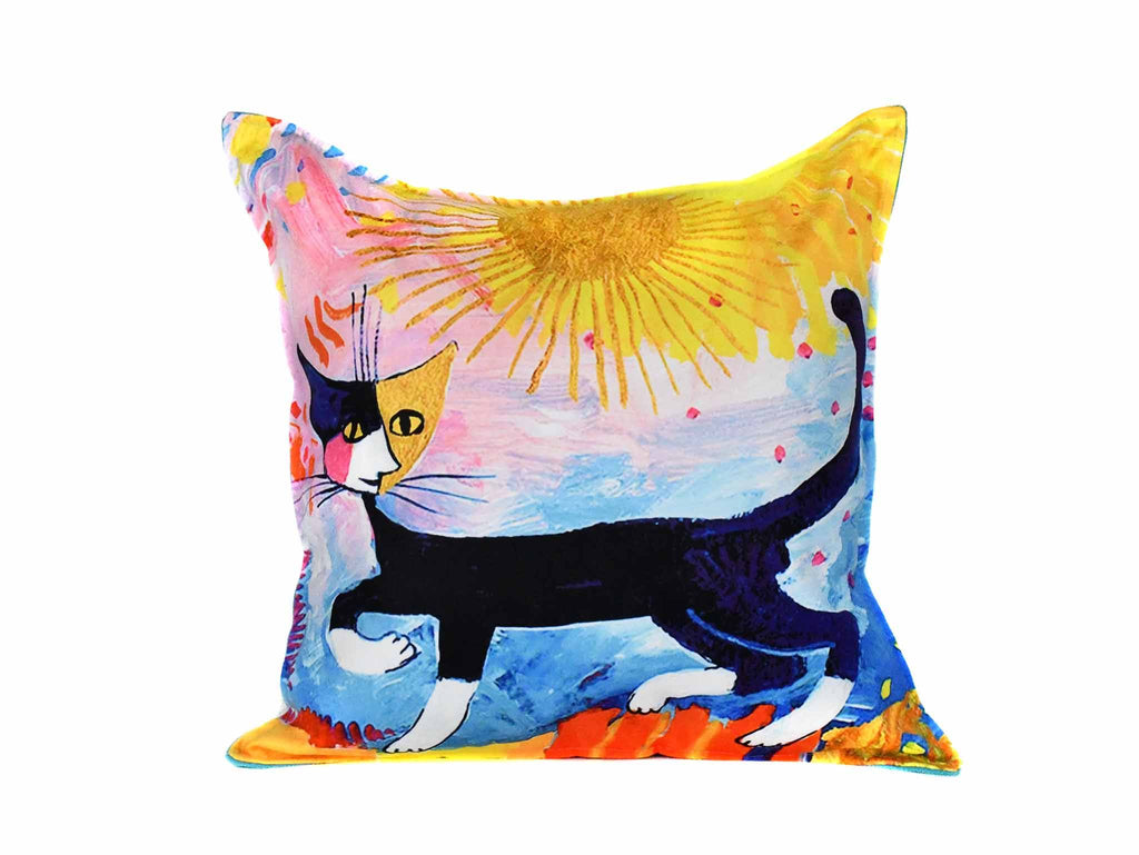 Cat Cushion Cover Design 17 Textile Sydney Grand Bazaar
