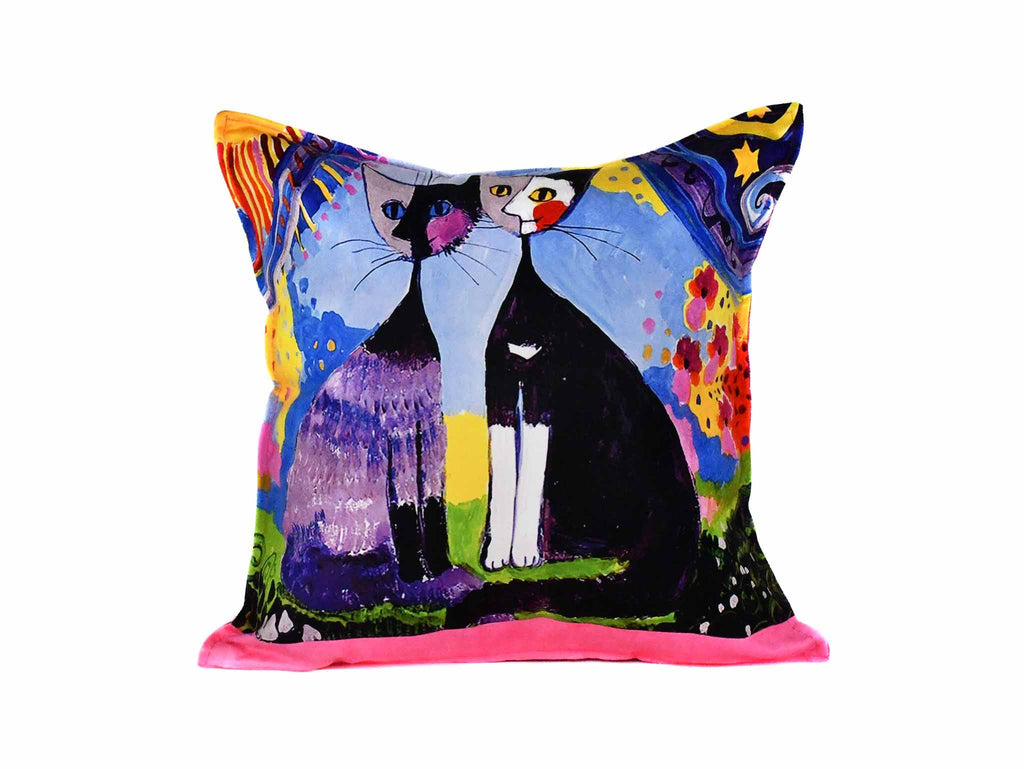 Cat Cushion Cover Design 20 Textile Sydney Grand Bazaar