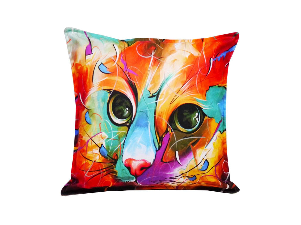 Cat Cushion Cover Design 23 Textile Sydney Grand Bazaar