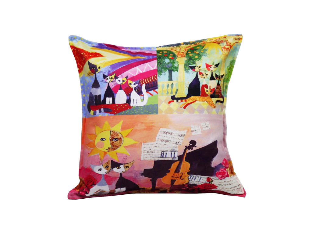 Cat Cushion Cover Design 24 Textile Sydney Grand Bazaar