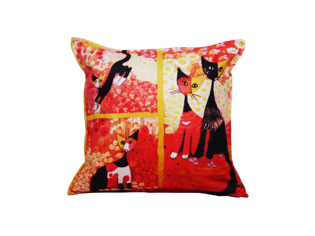 Cat Cushion Cover Design 25 Textile Sydney Grand Bazaar