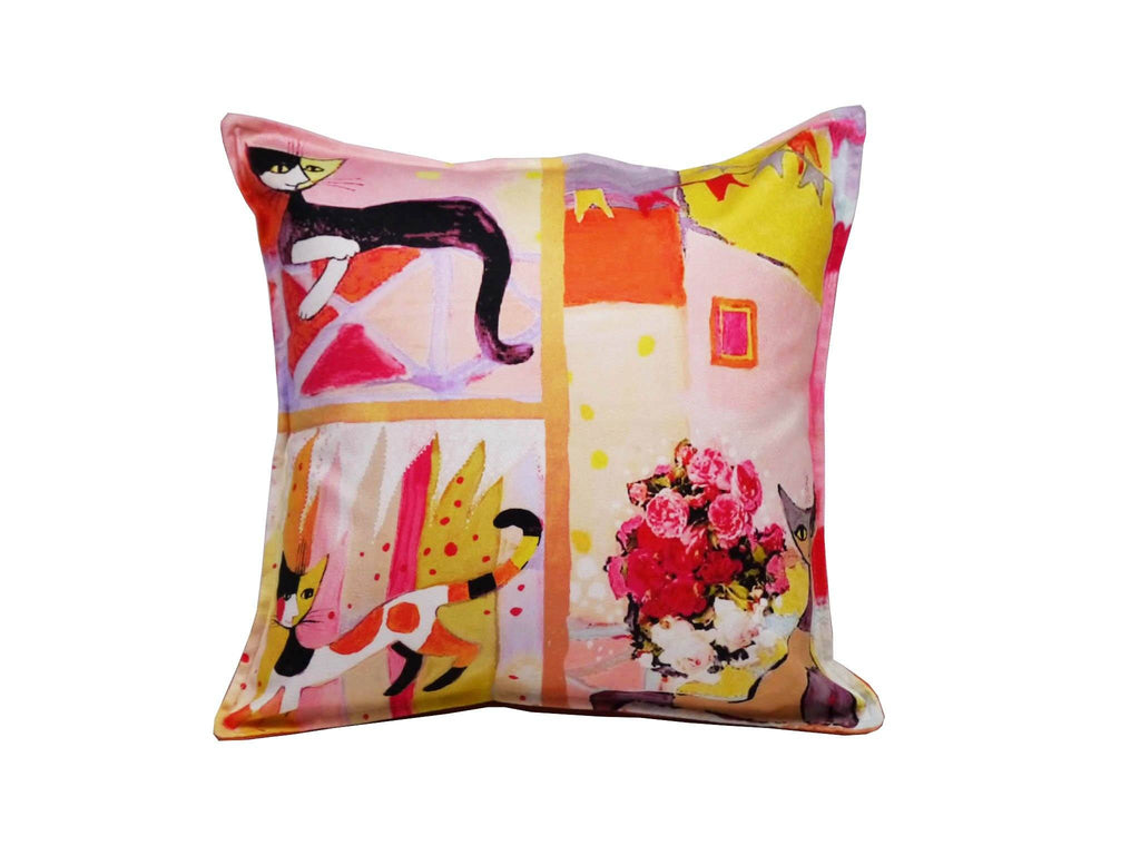 Cat Cushion Cover Design 27 Textile Sydney Grand Bazaar