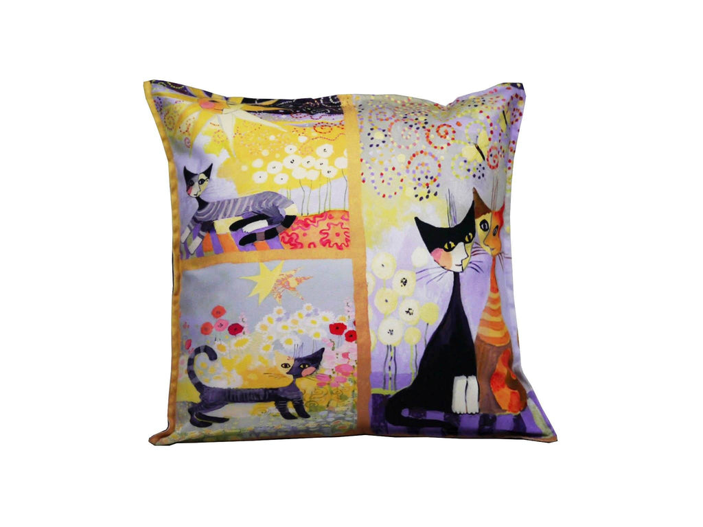 Cat Cushion Cover Design 28 Textile Sydney Grand Bazaar