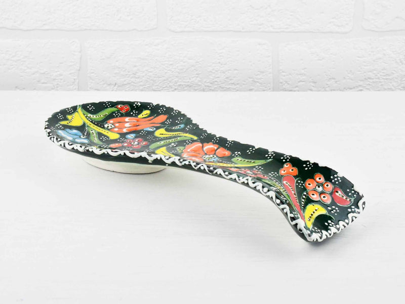 Ceramic Spoon Holders Flower Collection Green Ceramic Sydney Grand Bazaar