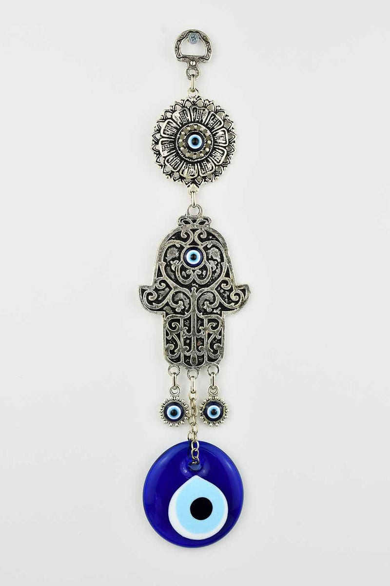 Evil Eye And Hamsa Hand Ornament Medium #3 Evil Eye Sydney Grand Bazaar