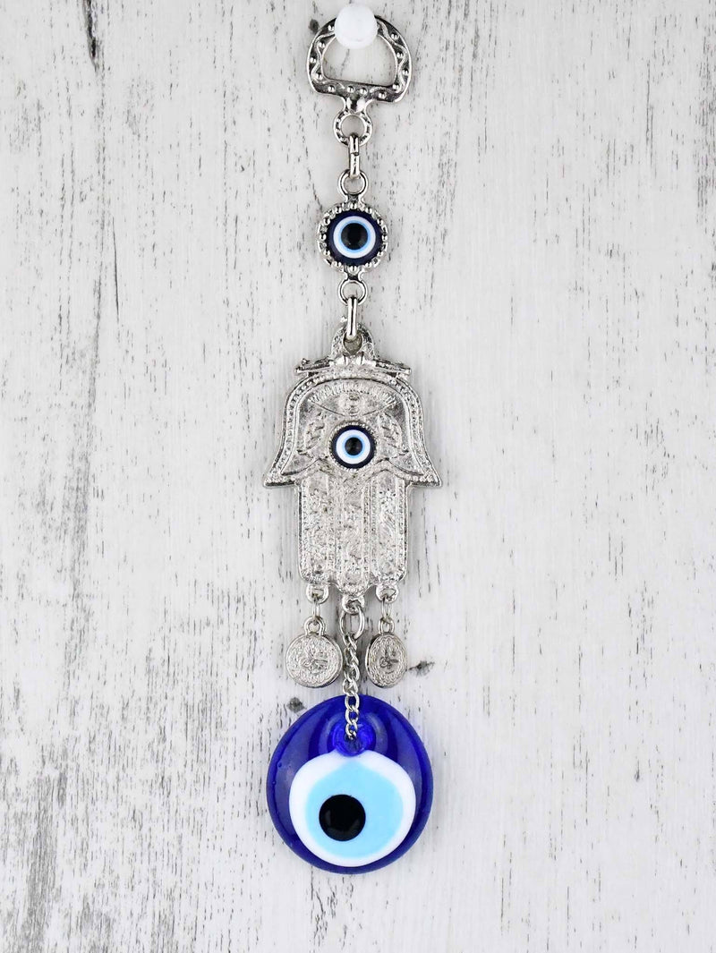 Evil Eye and Hamsa Hand Filigree Ornament X Small