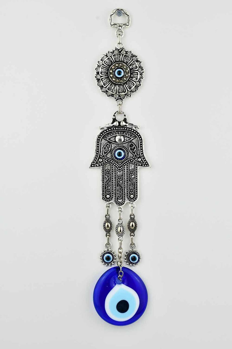 Evil Eye And Hamsa Hand Ornament Vintage Medium #4 Evil Eye Sydney Grand Bazaar