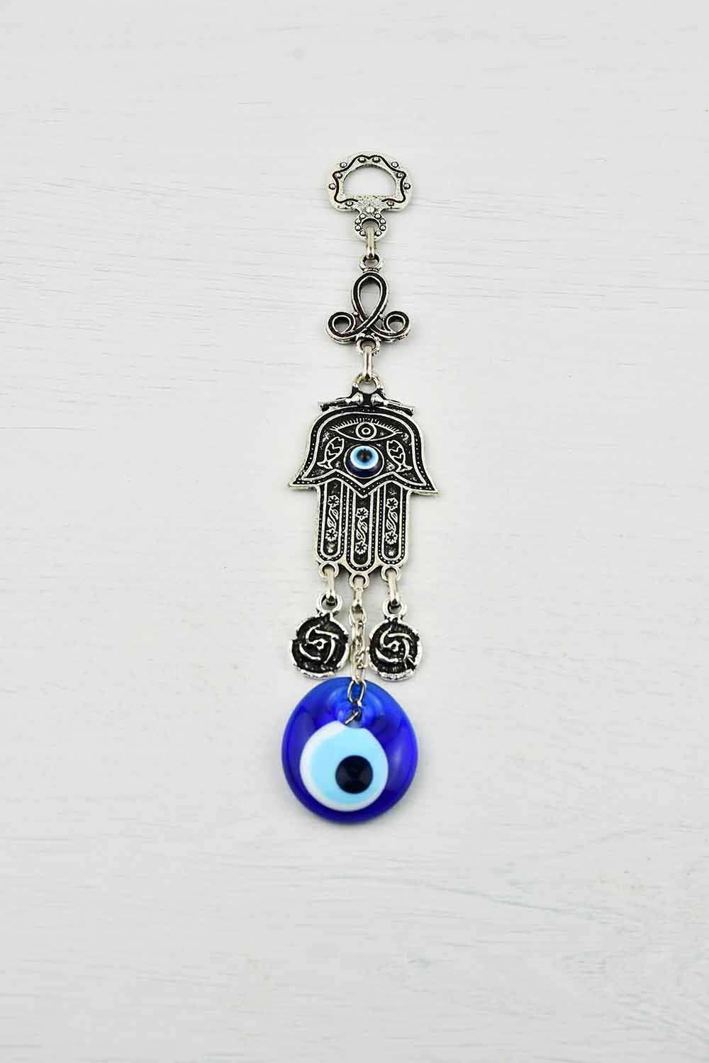 Evil Eye and Hamsa Hand Ornament X Small #3 Evil Eye Sydney Grand Bazaar