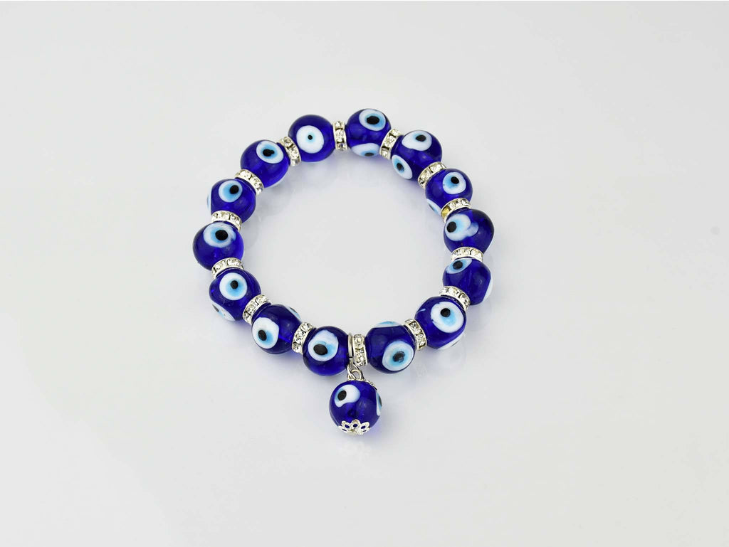 Evil Eye Bracelet #15137 10mm Evil Eye Sydney Grand Bazaar