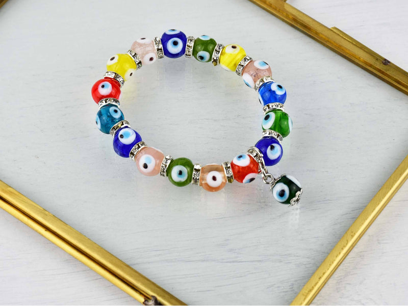 Evil Eye Bracelet Turquoise Eye Cord Collection