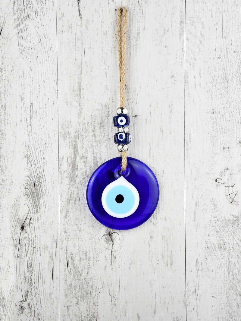 Evil Eye Glass Wall Ornament Beads