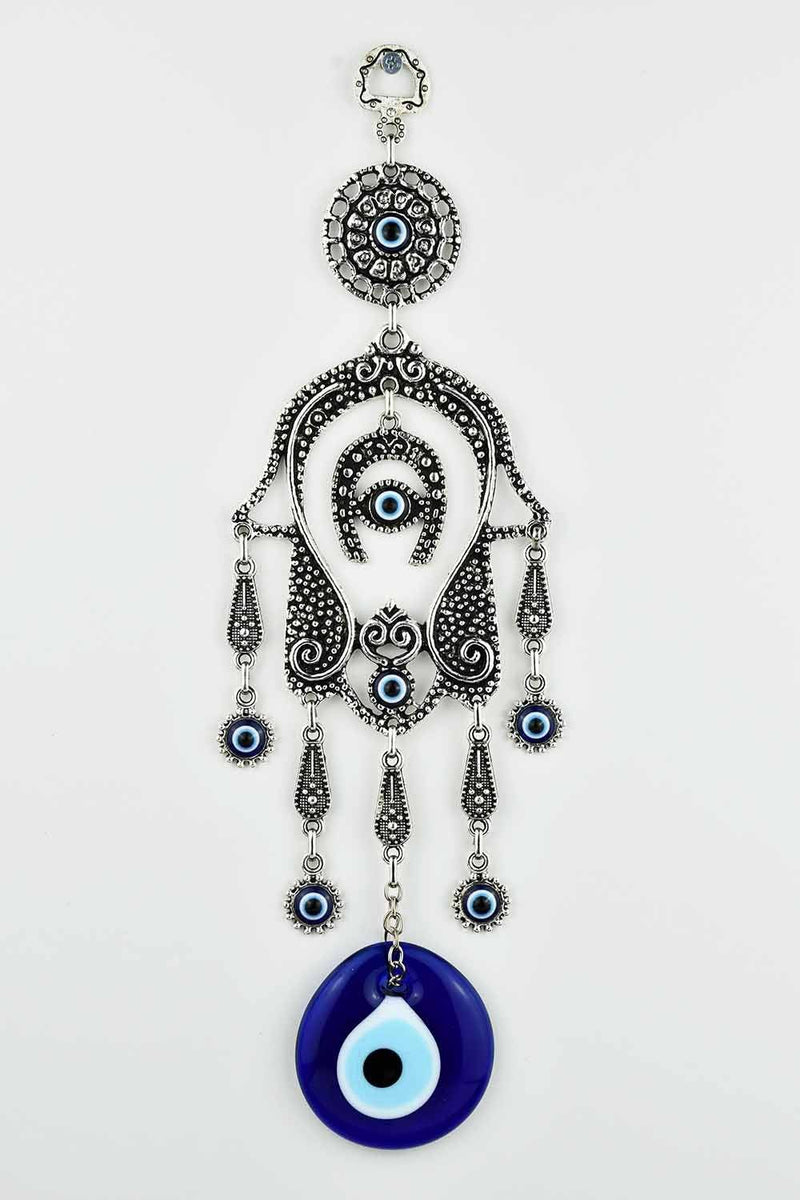 Evil Eye Large Hamsa Hand & Horseshoe Evil Eye Sydney Grand Bazaar