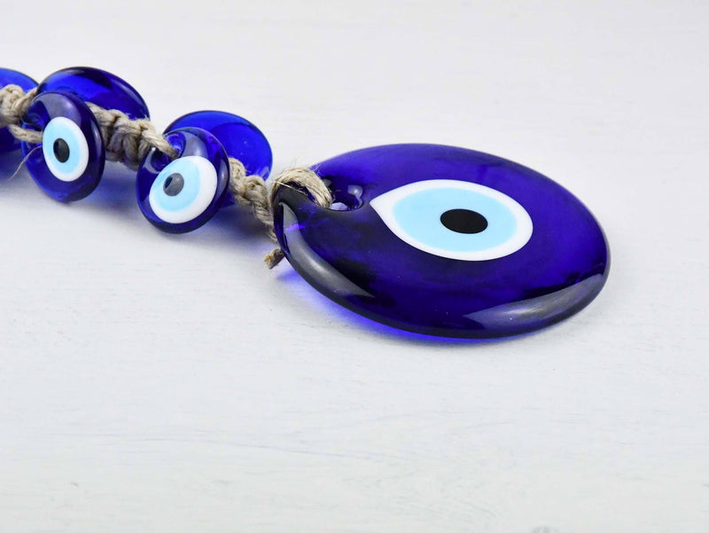 Evil Eye Wall Ornament 6 Glasses