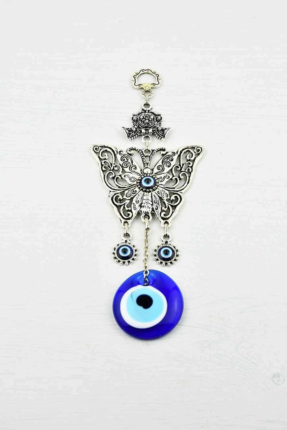 Evil Eye Ornament Butterfly Filigree Small Evil Eye Sydney Grand Bazaar