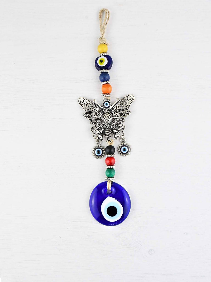 Evil Eye Wall Ornament Butterfly