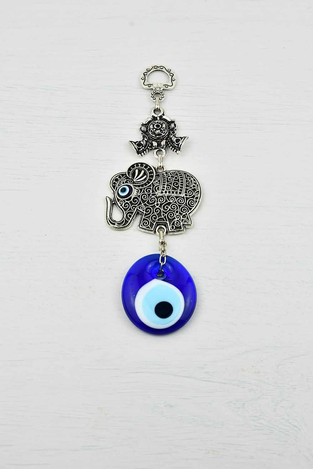 Evil Eye Ornament Elephant Filigree Small Evil Eye Sydney Grand Bazaar