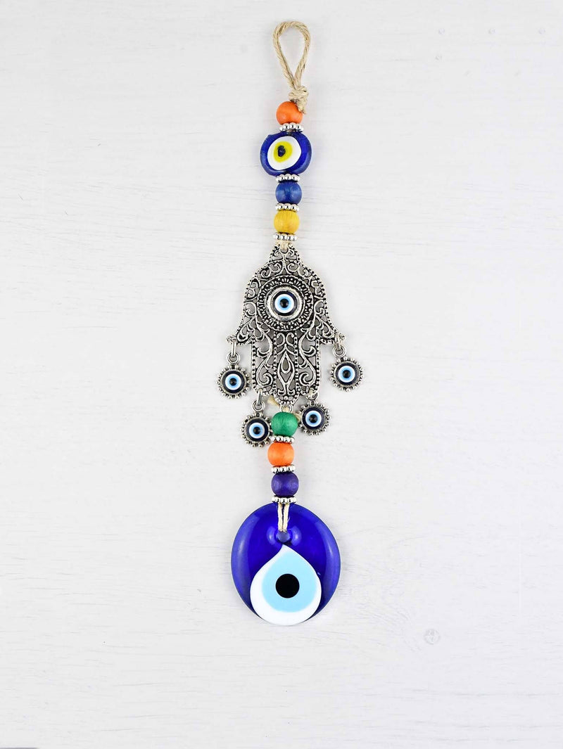 Evil Eye Wall Ornament Hamsa Hand