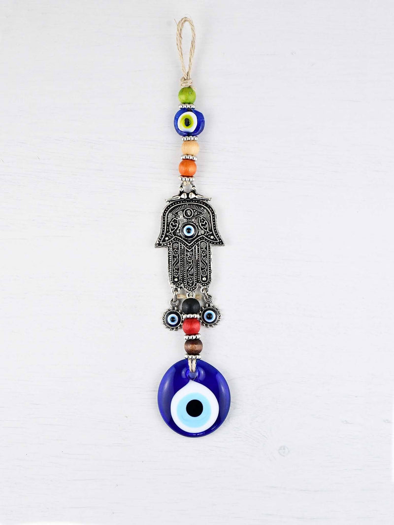 Evil Eye Ornament Hamsa Hand Vintage