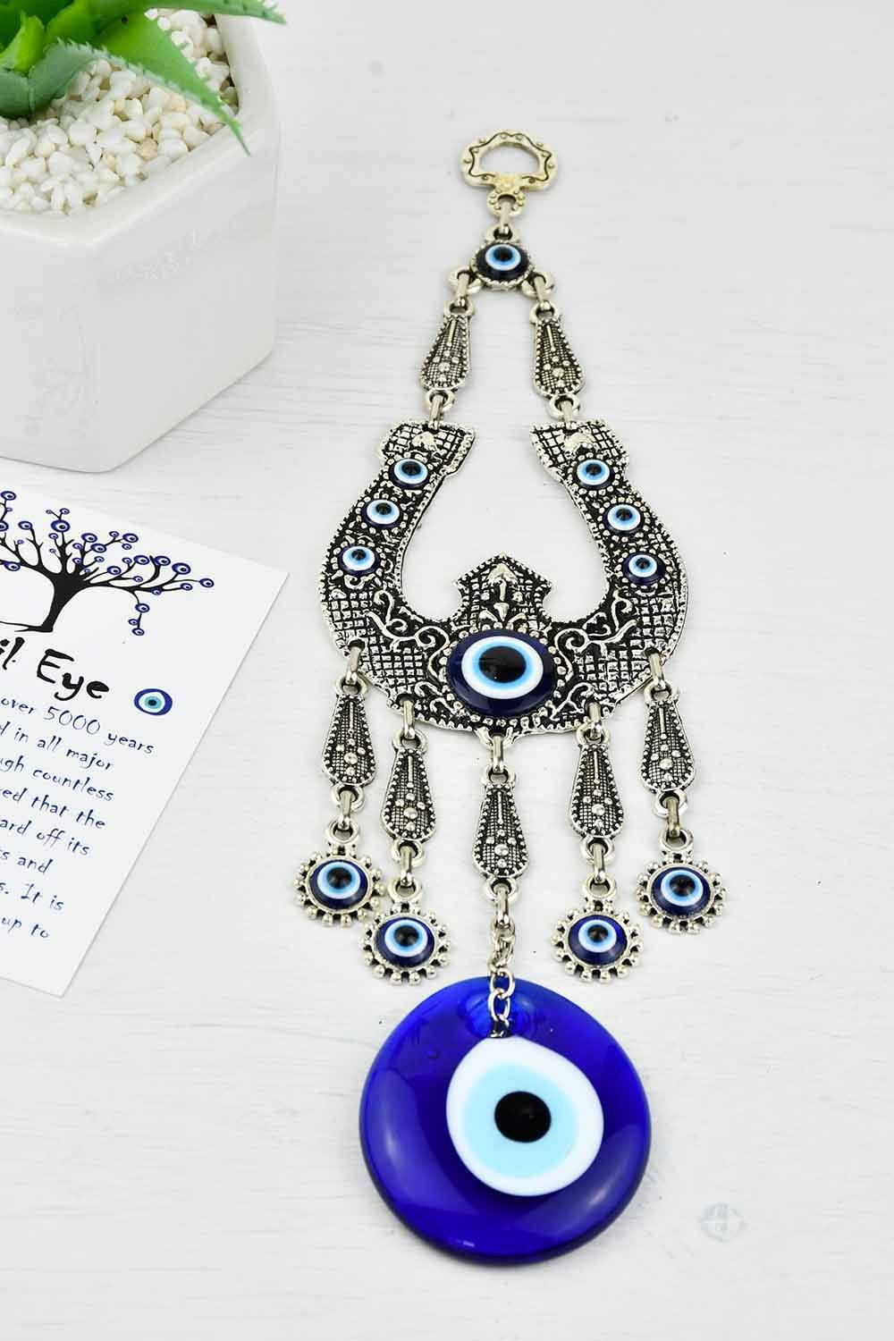 Evil Eye Ornament Horseshoe Up Medium Evil Eye Sydney Grand Bazaar