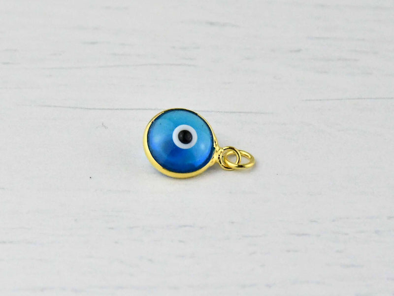 Evil Eye Pendants Gold