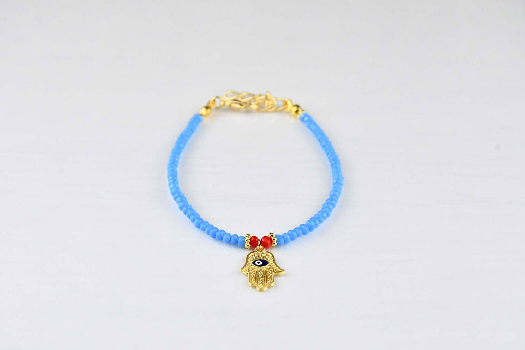 Evil Eye Porcelain Bracelet Hamsa Hand Collection Evil Eye Sydney Grand Bazaar