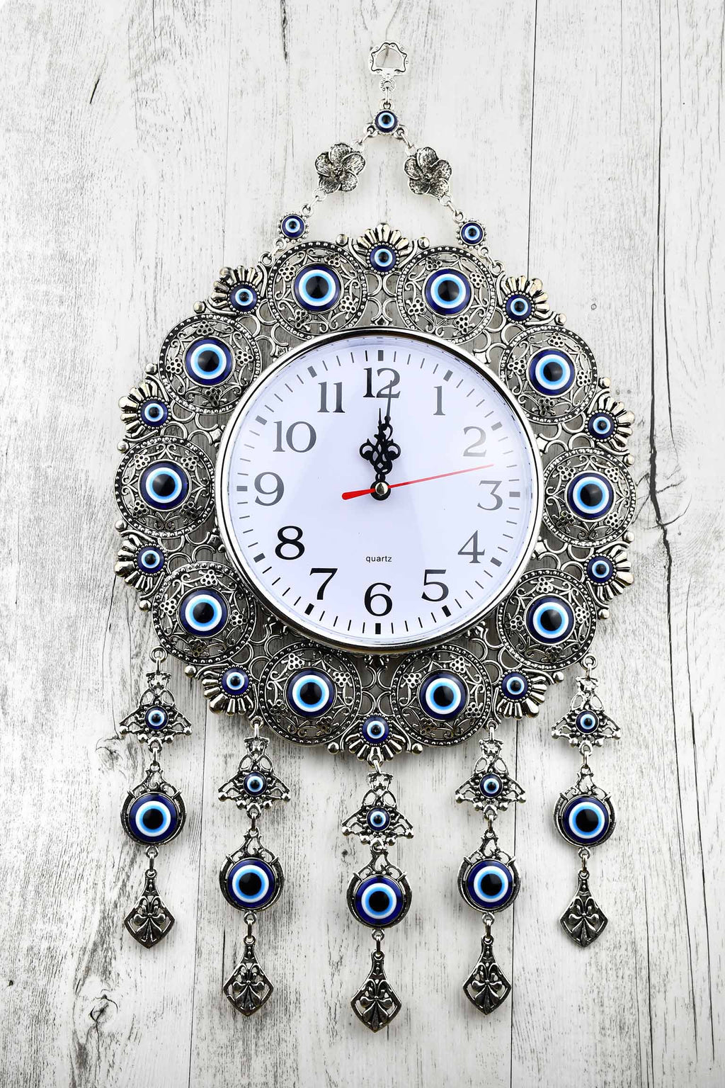 Evil Eye Wall Clock Extra Large Plain Design Evil Eye Sydney Grand Bazaar