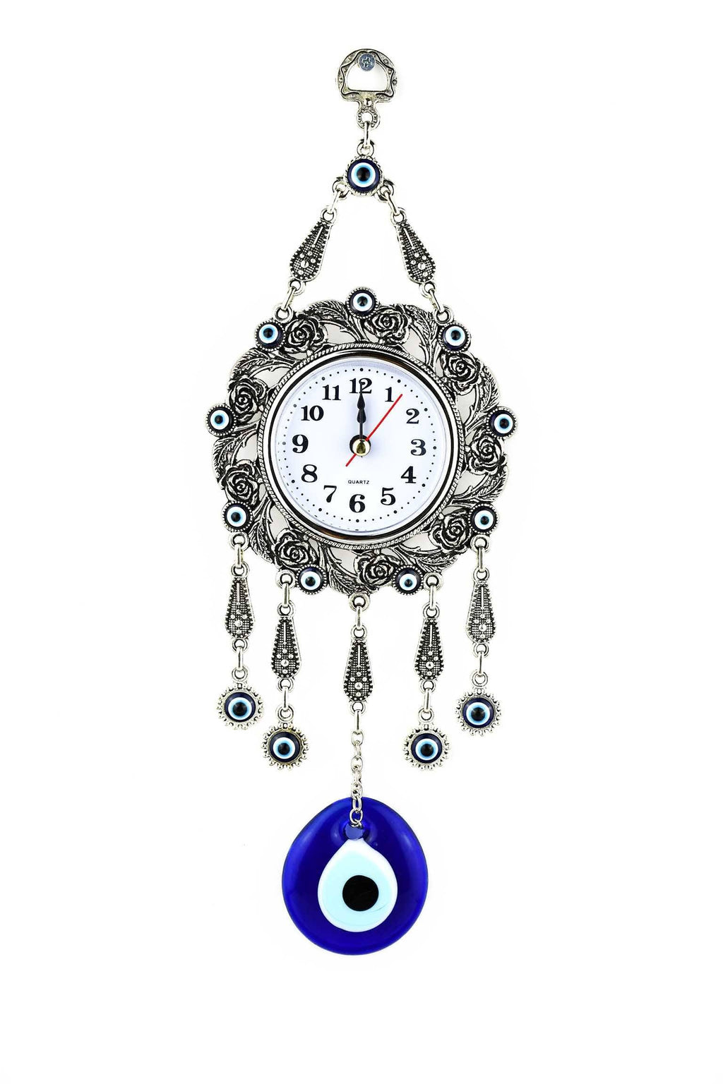 Evil Eye Wall Clock Plain Design Evil Eye Sydney Grand Bazaar