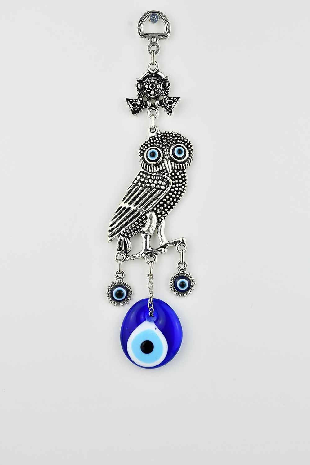 Evil Eye Wall Ornament Owl Evil Eye Sydney Grand Bazaar