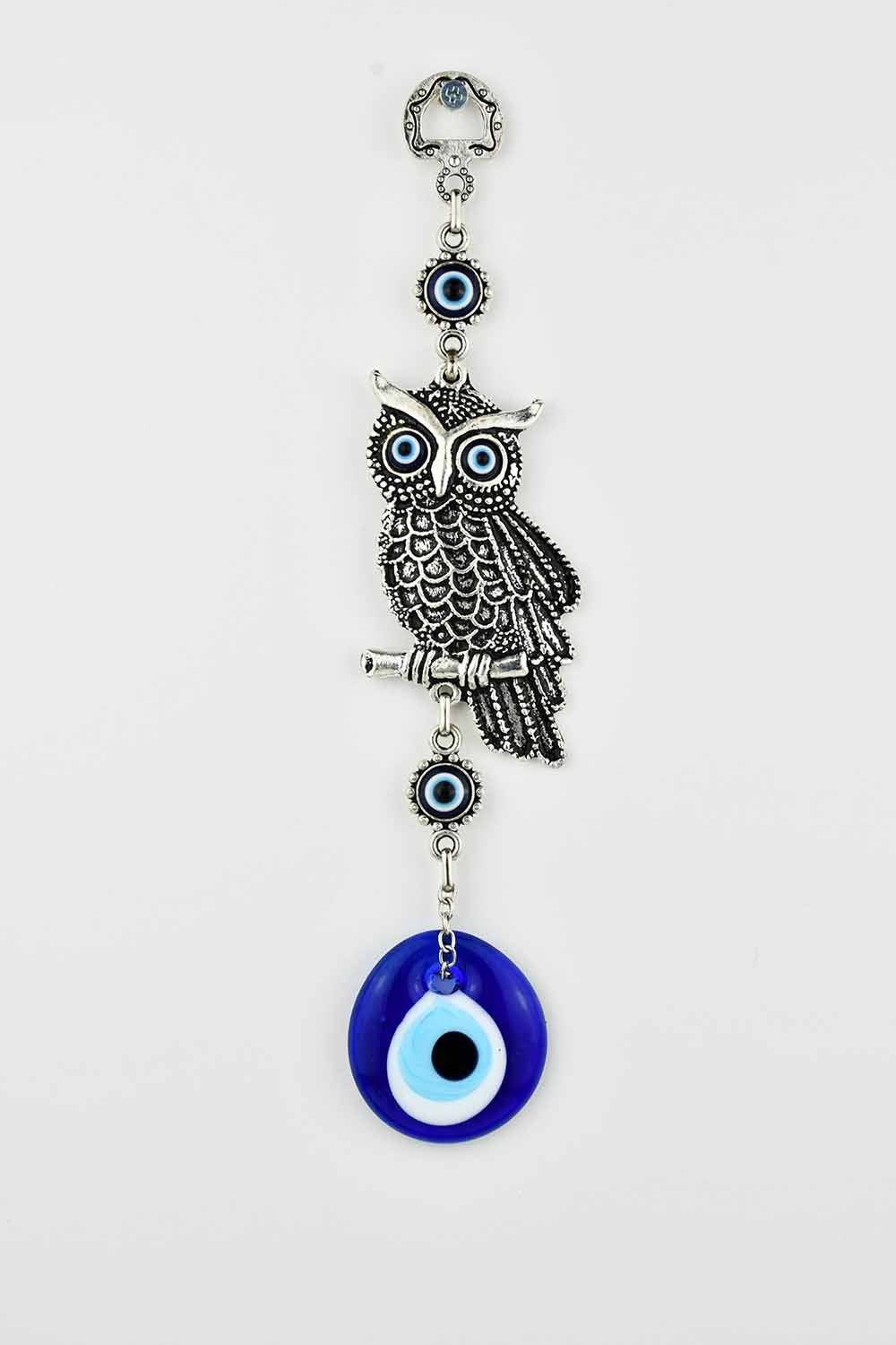 Evil Eye Wall Ornament Owl #2 Evil Eye Sydney Grand Bazaar
