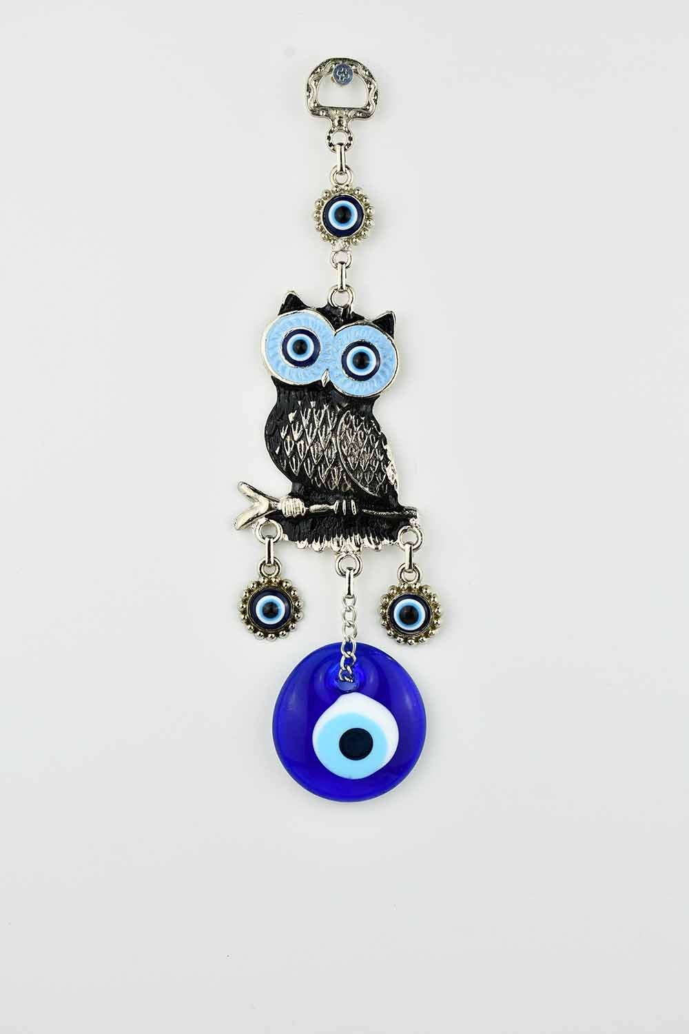 Evil Eye Wall Ornament Owl Black Evil Eye Sydney Grand Bazaar