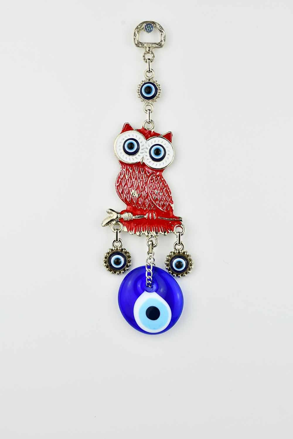 Evil Eye Wall Ornament Owl Red Evil Eye Sydney Grand Bazaar
