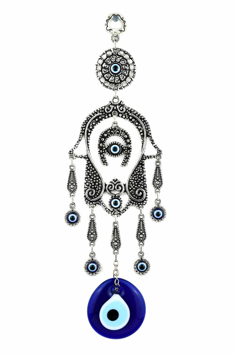 Evil Eye Hamsa Hand Horseshoe turkish greek mati