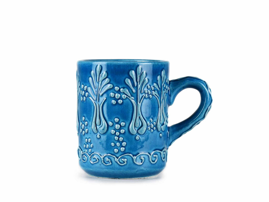 Turkish Ceramic Mugs Firuze Turquoise Blue Ceramic Sydney Grand Bazaar